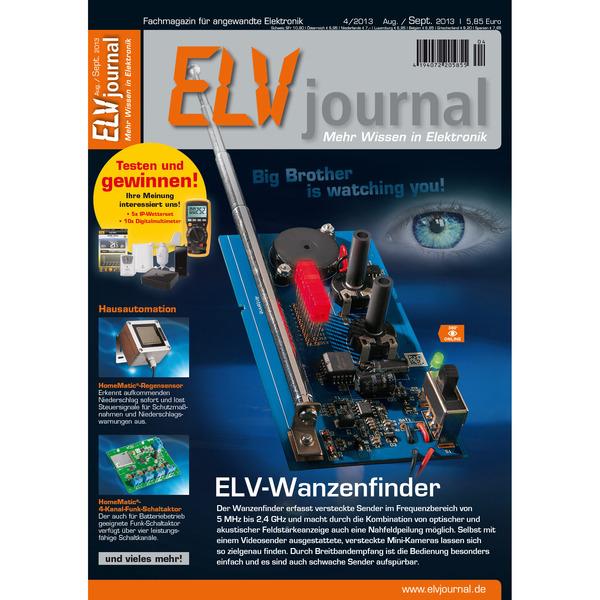 ELVjournal Ausgabe 4/2013 Digital (PDF)