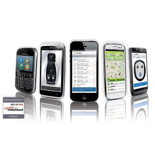 BlueID – das Smartphone als Schlüssel
