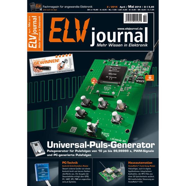 ELVjournal Ausgabe 2/2014 Digital (PDF)