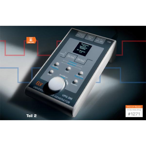 Vielseitiges Laborgerät – Universal-Puls-Generator UPG 200 Teil 2
