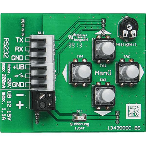 Multifunktions-Großdisplay MGDP1 mit Funkuhr und Temperaturanzeige Teil 2