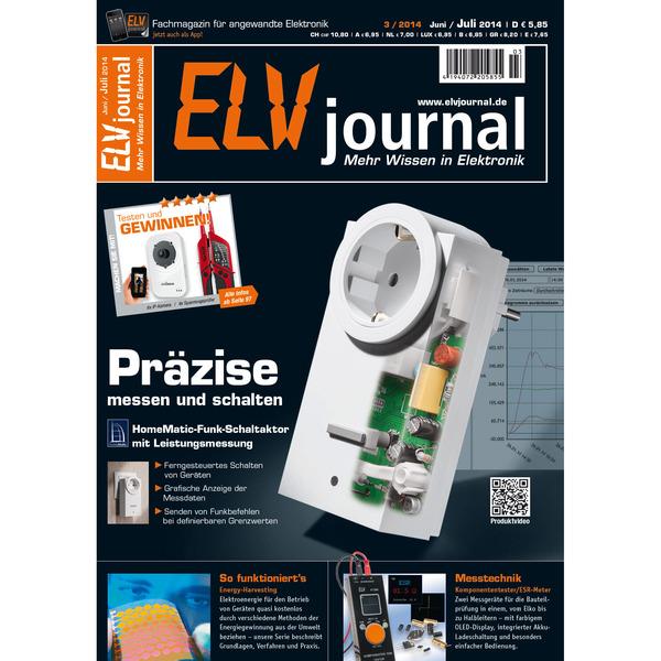ELVjournal Ausgabe 3/2014 Digital (PDF)