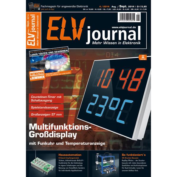 ELVjournal Ausgabe 4/2014 Digital (PDF)