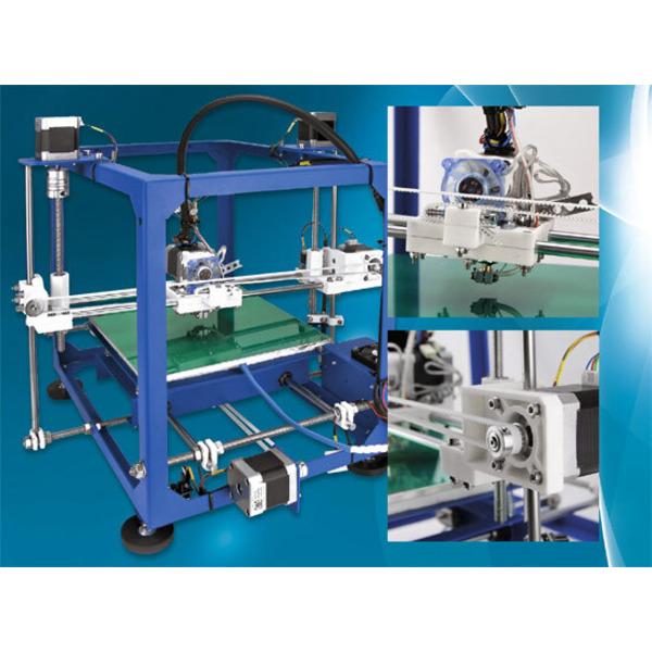 3D-Druck aus dem Baukasten - 3D-Drucker-Bausatz RepRap PRotos V2 - ein Baubericht