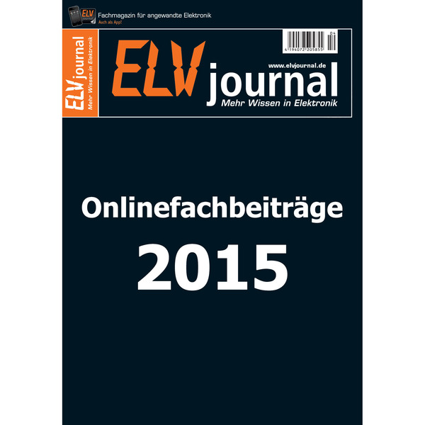 ELVJournal-Onlineausgabe 2015