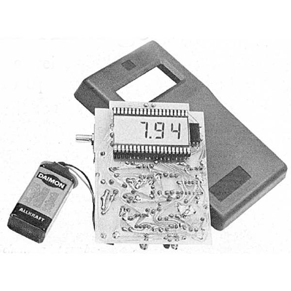 Modellflugzeug-Drehzahlmesser mit 4stelliger LCD-Anzeige