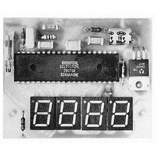 LED-Panelmeter - 3 1/2 stelliges Voltmeter mit LED-Anzeige