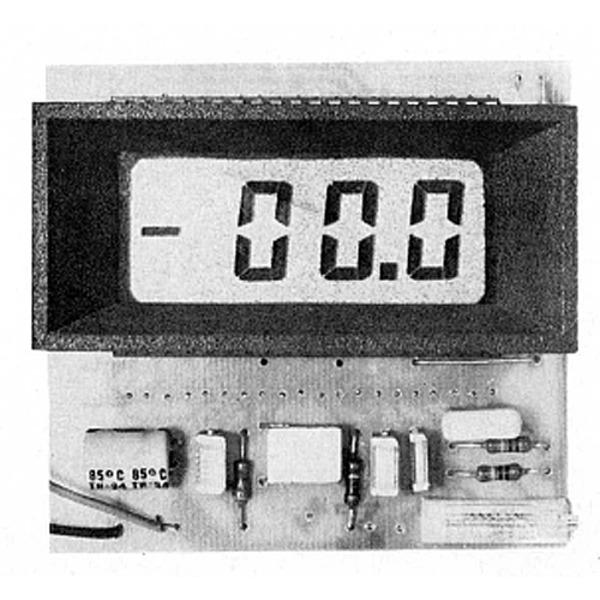 LCD-Panelmeter - 3 1/2 stelliges Voltmeter mit LCD-Anzeige