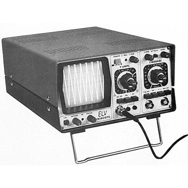ELV-UNISCOPE 10 MHz-Oszilloskop von ELV-HAMEG Teil 3b/6