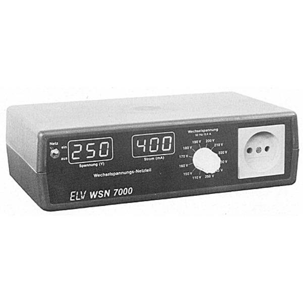 ELV-Serie 7000 Wechselspannungs-Netzteil WSN 7000 (Super-Trenntrafo)