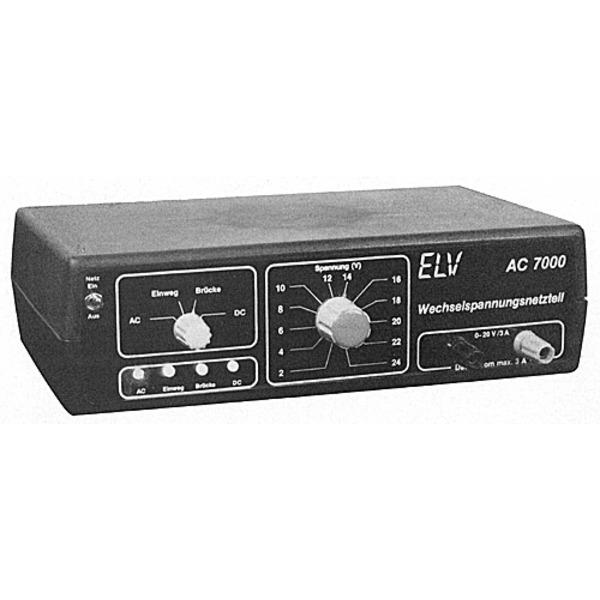 ELV-Serie 7000 Wechselspannungs-Netzteil AC 7000
