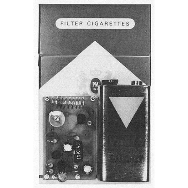 Miniatur-UKW-Prüfsender