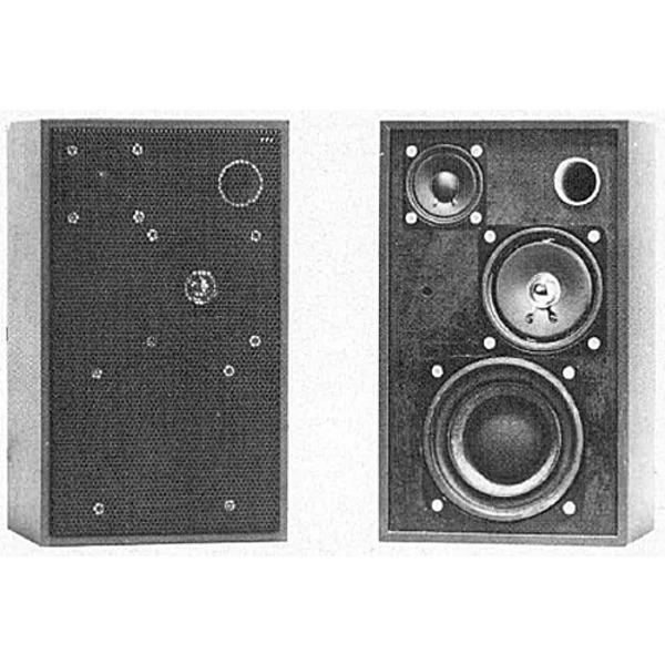 Aktiv-3-Wege-HiFi-Baßreflex-Regalbox ABR 30