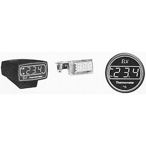Digitales Kfz-Außen-/Innen-Thermometer