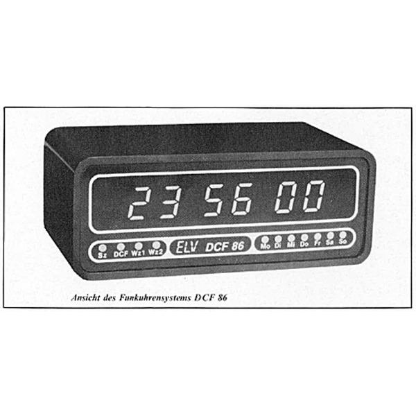 ELV-Serie micro-line: Funkuhrensystem DCF 86 Teil 1/3