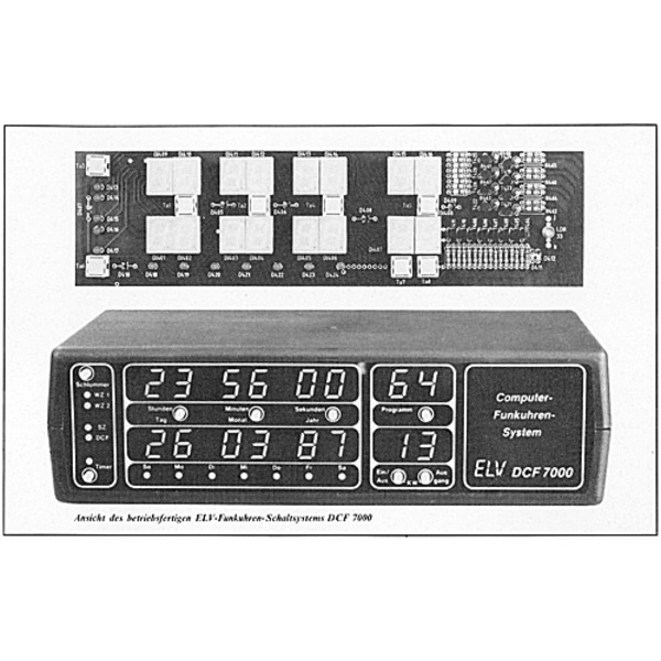 Funkuhren-Schaltsystem DCF 7000 Teil 1/3