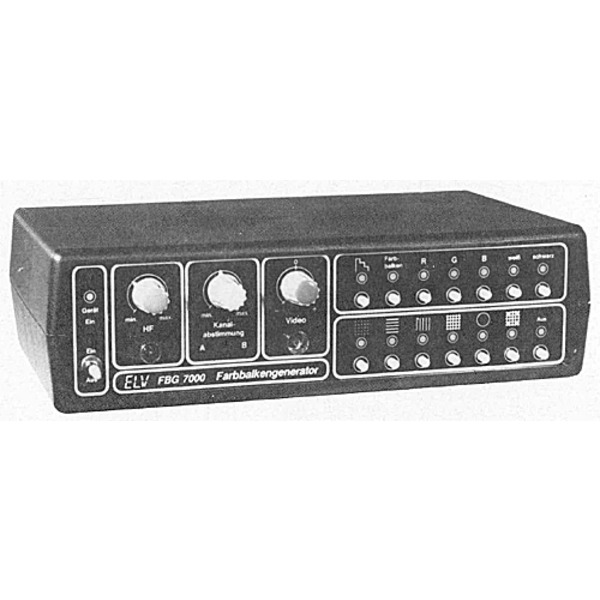 ELV-Serie 7000: Farbbalkengenerator FBG 7000 Teil 2/2