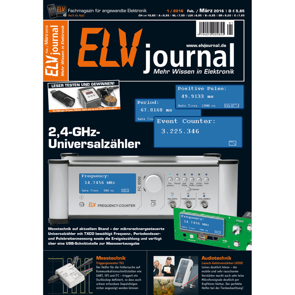 ELVjournal Ausgabe 1/2016 Digital (PDF)