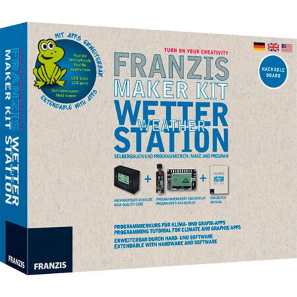 Franzis Maker Kit - Wetterstation selbst gebaut
