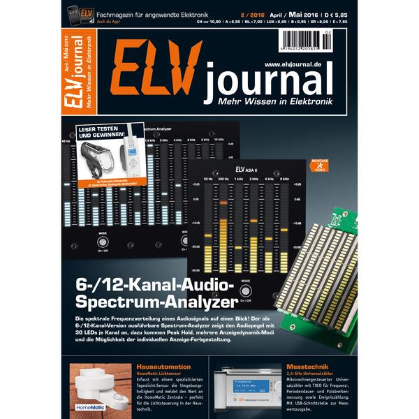 ELVjournal Ausgabe 2/2016 Digital (PDF)