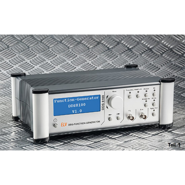 Bis 100 MHz - DDS-Funktionsgenerator DDS 8100 Teil 1