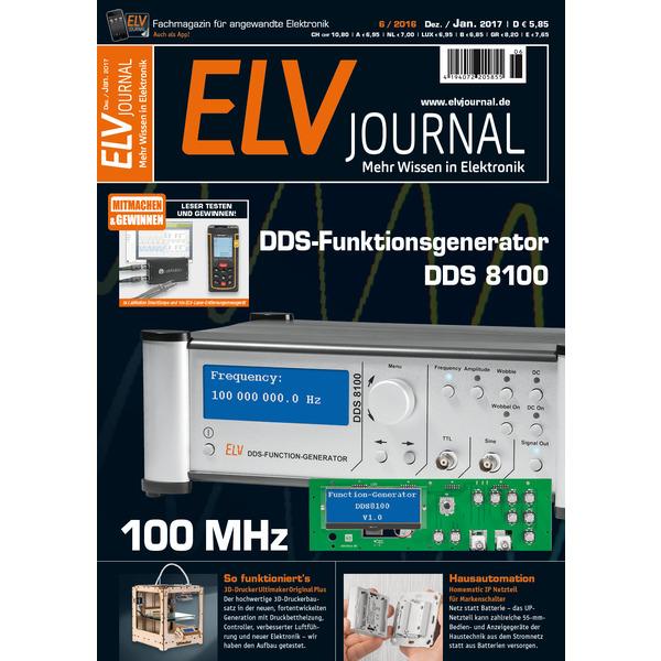 ELVjournal Ausgabe 6/2016 Digital (PDF)
