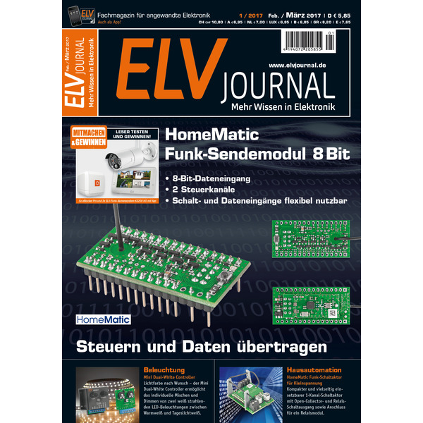 ELVjournal Ausgabe 1/2017 Digital (PDF)