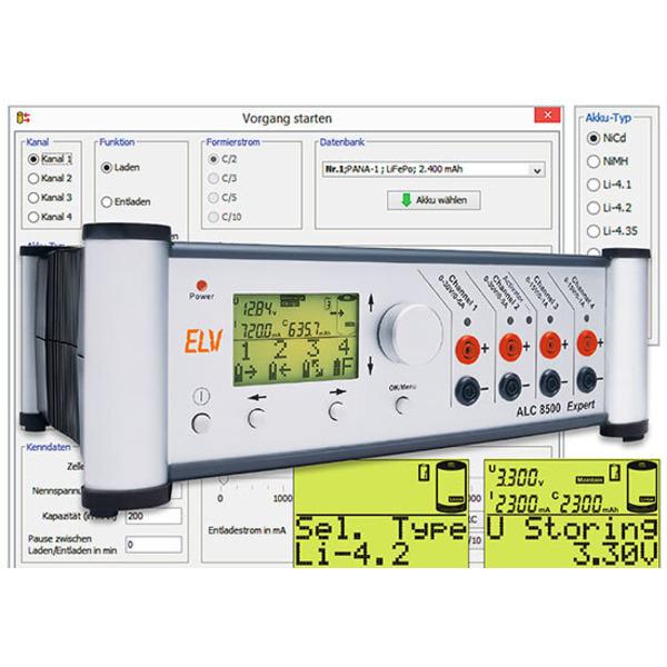Firm- und Software-Upgrade - Akku-Lade-Center ALC 8500 Expert-2