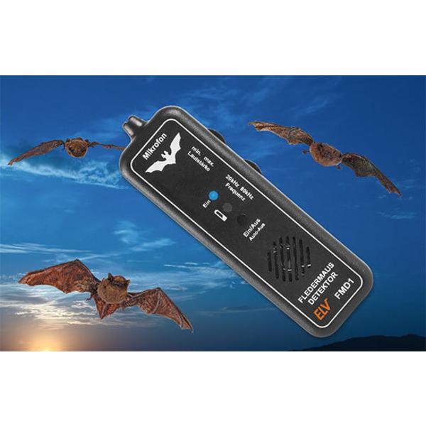 Hörbar gemacht - Fledermaus-Detektor FMD1