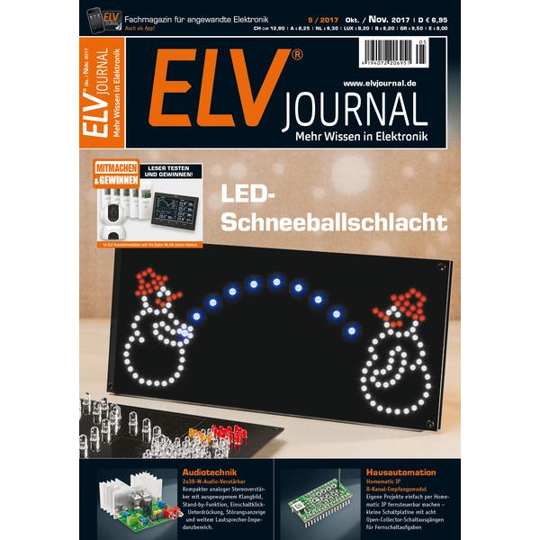 ELVjournal Ausgabe 5/2017 Digital (PDF)