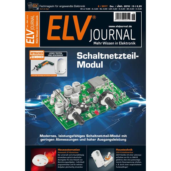ELVjournal Ausgabe 6/2017 Digital (PDF)