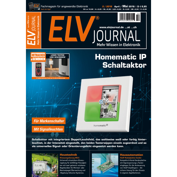 ELVjournal Ausgabe 2/2018 Digital (PDF)