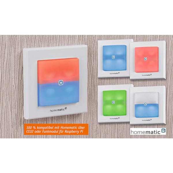 Homematic IP Schaltaktor für Markenschalter mit Signalleuchte Teil 1