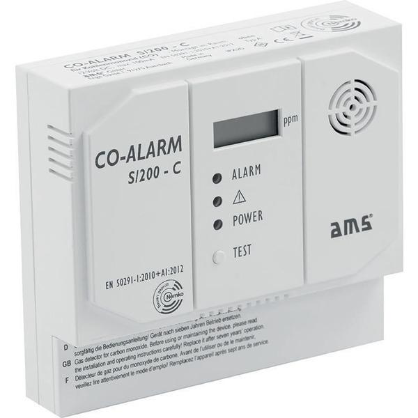 AMS S/200-C Kohlenmonoxidmelder mit Schaltkontakt