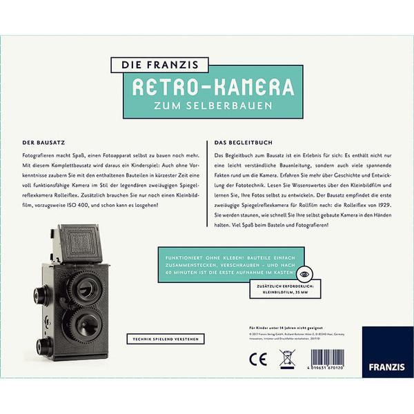 FRANZIS Die Franzis-Retro-Kamera zum Selberbauen