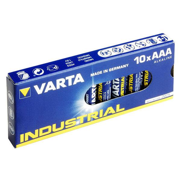 Varta Industrial 10er-Set Micro/AAA