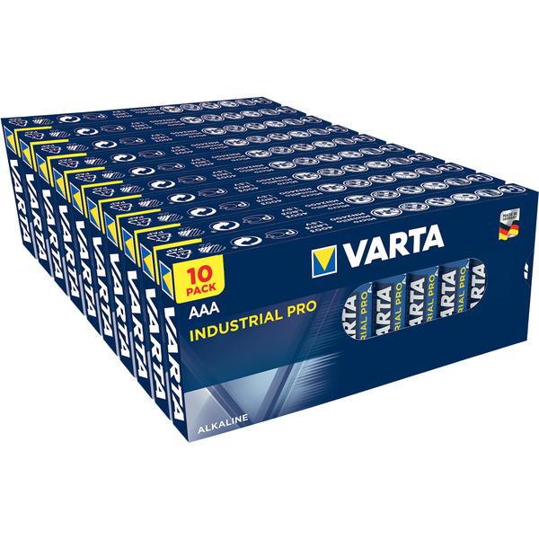 Varta Industrial PRO 100er-Set Micro/AAA