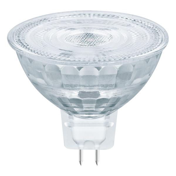 OSRAM LED STAR Plus 5,2-W-GU5,3-LED-Lampe 36°, warmweiß, dimmbar (GLOWdim), 12 V AC