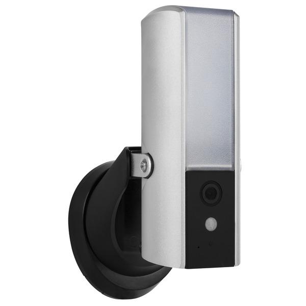 Smartwares Leuchte mit integrierter Überwachungskamera CIP-39901, microSD-Slot