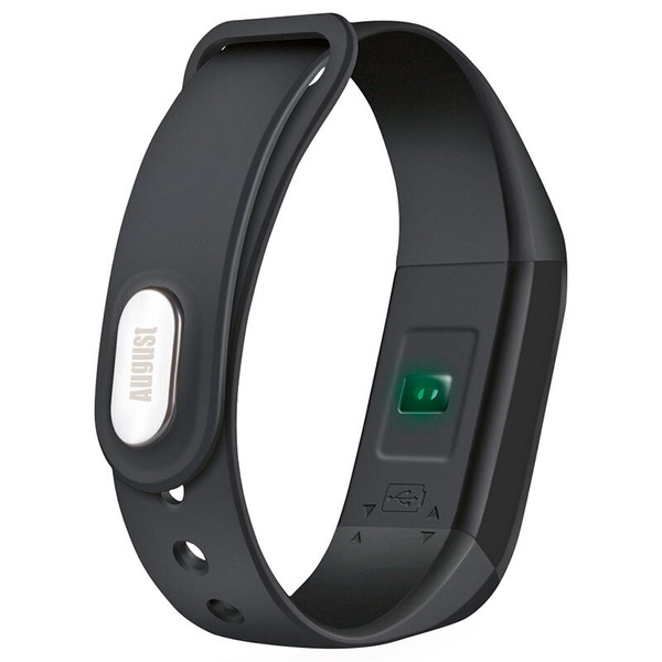 August Smarter Fitness-Tracker SWB200, OLED-Display, IP67, bis zu 30 Tage Akkulaufzeit