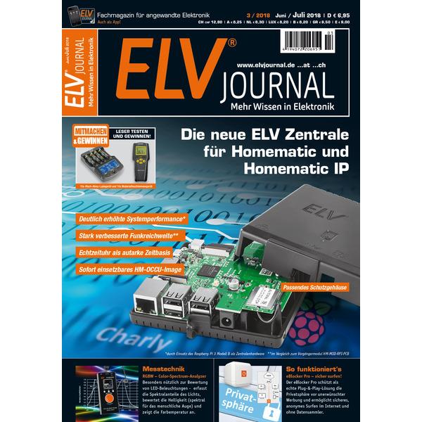 ELVjournal Ausgabe 3/2018 Print (Schweiz)