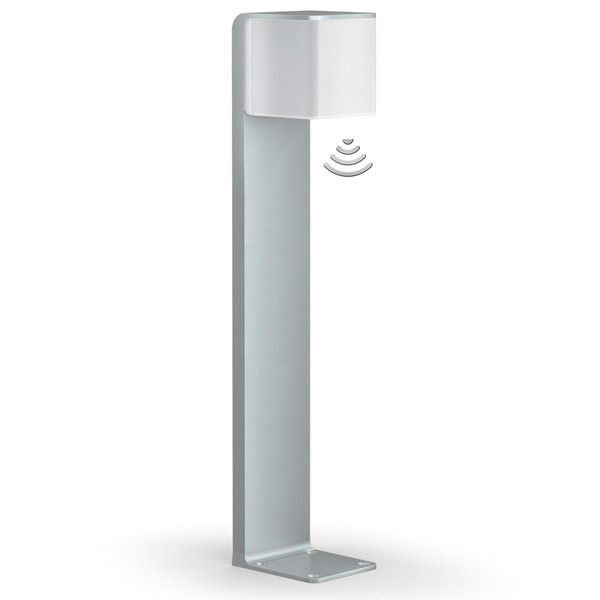 Steinel GL80 LED iHF 9,5-W-Sensor-LED-Standleuchte mit HF-Bewegungsmelder, per App einstellbar