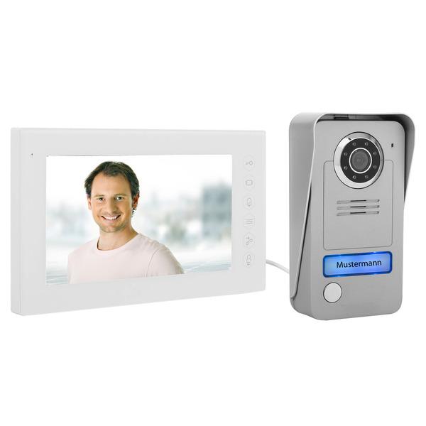 Smartwares 2-Draht-Video-Türsprechanlage mit Farbmonitor