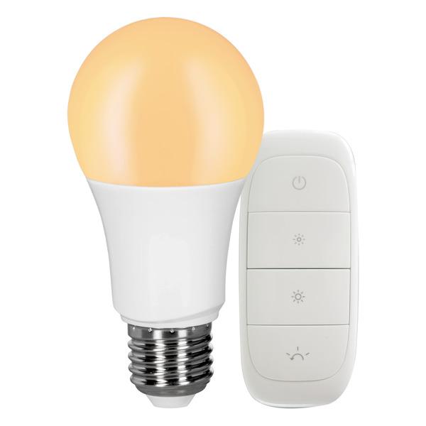 tint Starterset mit 9-W-LED-Lampe E27 (Zigbee) und Funk-Fernbedienung