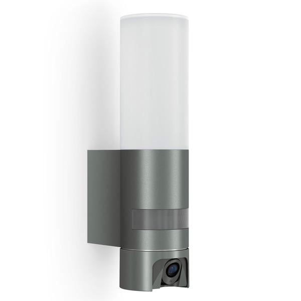 Steinel L 600 CAM LED-Wandleuchte/Kameraleuchte mit HD-Kamera, Zugriff per App, anthrazit