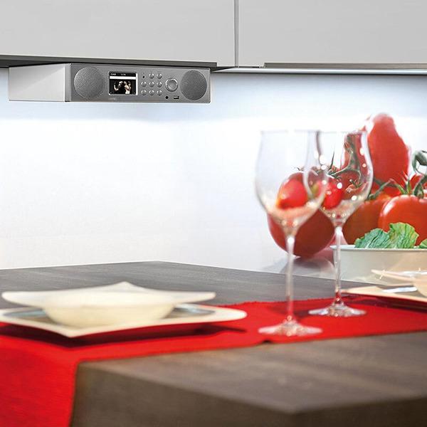 Imperial Hybrid-Küchen-/Tischradio Dabman i450, UKW/DAB+/Internet, DLNA, Bluetooth, USB