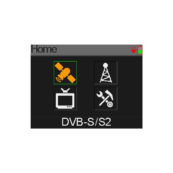 Megasat Satfinder / Sat-Messgerät HD 4 Combo für DVB-S/S2, DVB-T/T2, DVB-C, Farbdisplay, Akkubetrieb