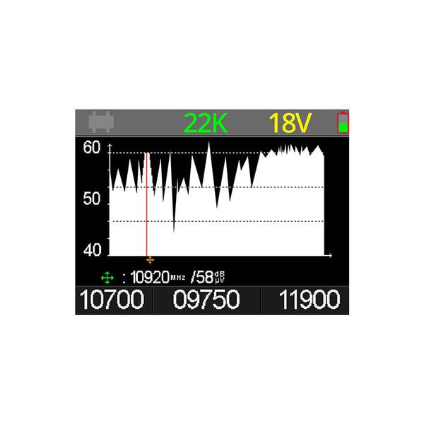"Megasat Satfinder / Sat-Messgerät HD 4 Combo, für DVB-S/S2, DVB-T/T2, DVB-C, Farbdisplay 6 cm (2,4"")"