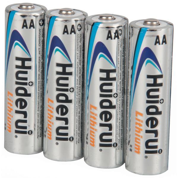 Huiderui Lithium Batterie Mignon AA, 4er Pack