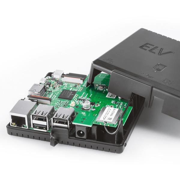 ELV Bausatz Smart Home Zentrale Charly, Starter-Set, schwarzes Gehäuse